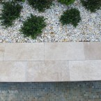 12x24 Ivory Travertine Pool Coping