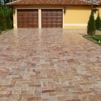 6x12 Autumn Blend Travertine Pavers