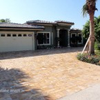 6x12 Gold Travertine Pavers