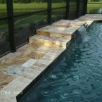 French Pattern Autumn Blend Travertine Pavers