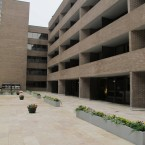 16x24 Walnut Tumbled Travertine Pavers (Hyatt Regency New Orleans)
