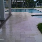 French Pattern Pearl Tumbled Marble Pavers