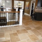 French Pattern B&C Walnut Travertine Tiles