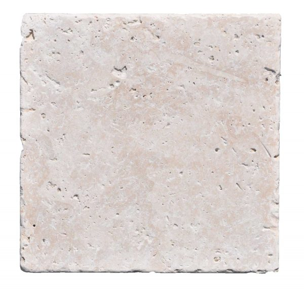 Premium Select 12×12 Ivory Tumbled Travertine Pavers *PRE-ORDER SALE* (Until 01/24/20) (300px)