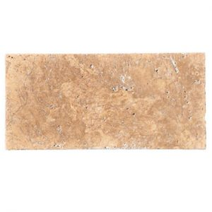 Premium Select 6x12 Noche Tumbled Travertine Pavers