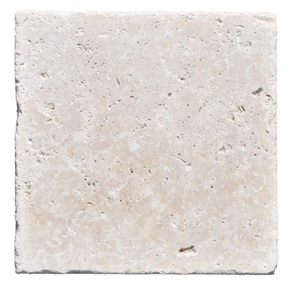 Premium Select 8×8 Ivory Tumbled Travertine Pavers *PRE-ORDER SALE* (Until 12/13/19) (300px)