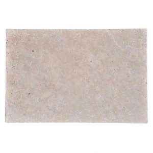 Premium Select 16x24 Ivory Tumbled Travertine Pavers
