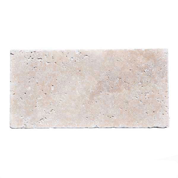 Premium Select 6×12 Ivory Travertine Pavers
