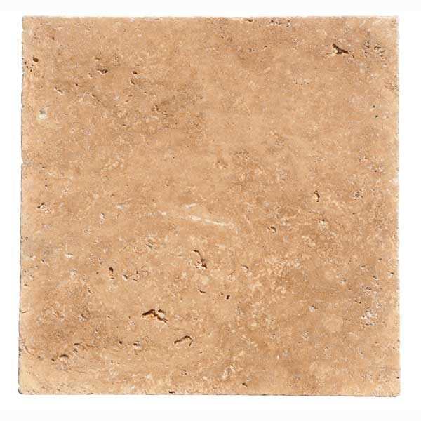 Premium Select 12×12 Noche Tumbled Travertine Pavers (300px)