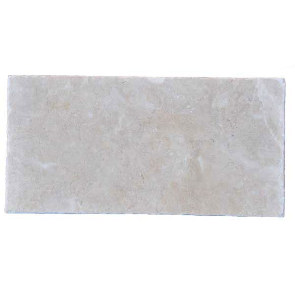 Premium Select 6×12 Pearl Tumbled Marble Pavers