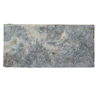 Premium Select 6×12 Silver Tumbled Travertine Pavers (300px)
