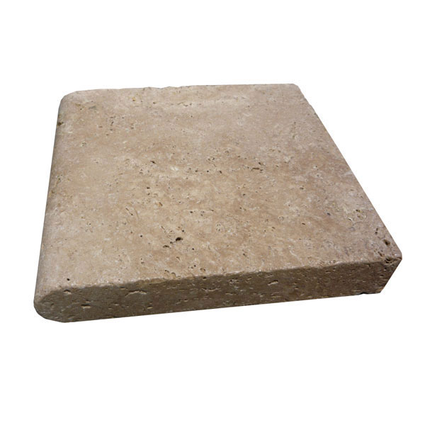 "12x12 Walnut Travertine Pool Coping (2"")"