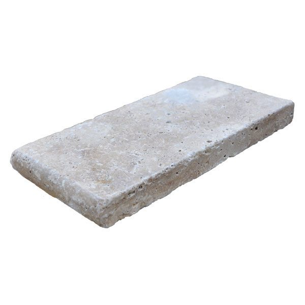Premium Select 6×12 Walnut Travertine Pool Coping (300px)