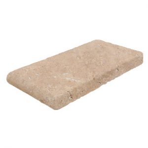 Premium Select 6x12 Noche Travertine Pool Coping