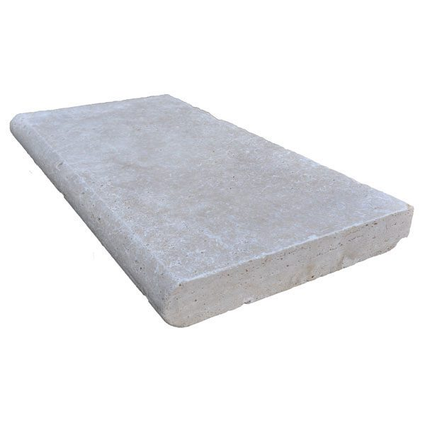 Premium Select 12×24 Ivory Travertine Pool Coping 2 INCH *NEW YEAR SALE* (Until 01/29/21) (300px)