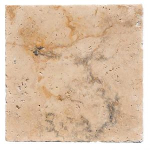 Premium Select 24x24 Country Classic Tumbled Travertine Pavers