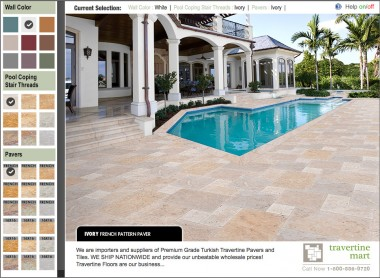 Travertine Mart 3D Patio Designer
