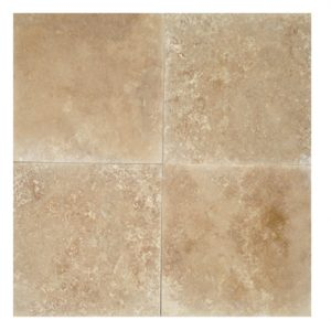 24x24 Medium Honed & Filled Travertine Tile