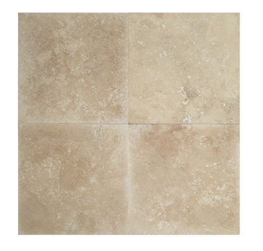24×24 Light Honed & Filled Travertine Tiles
