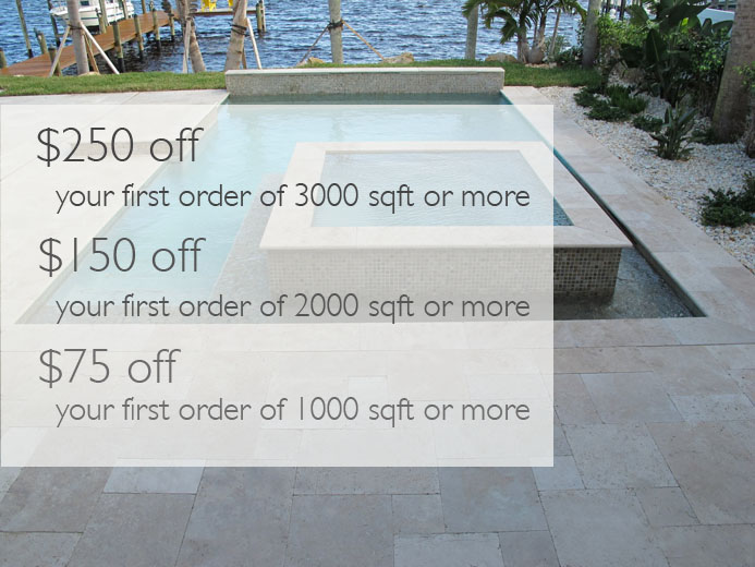 Travertine Pavers Deal