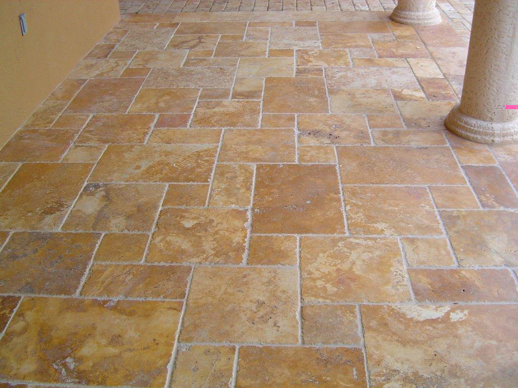 French Pattern Travertine Layout Joy Studio Design Gallery Best Design