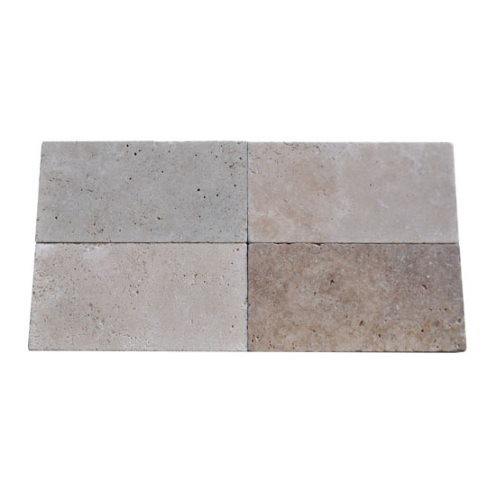 Premium Select 6×12 Ivory Swirl® Travertine Pavers (300px)