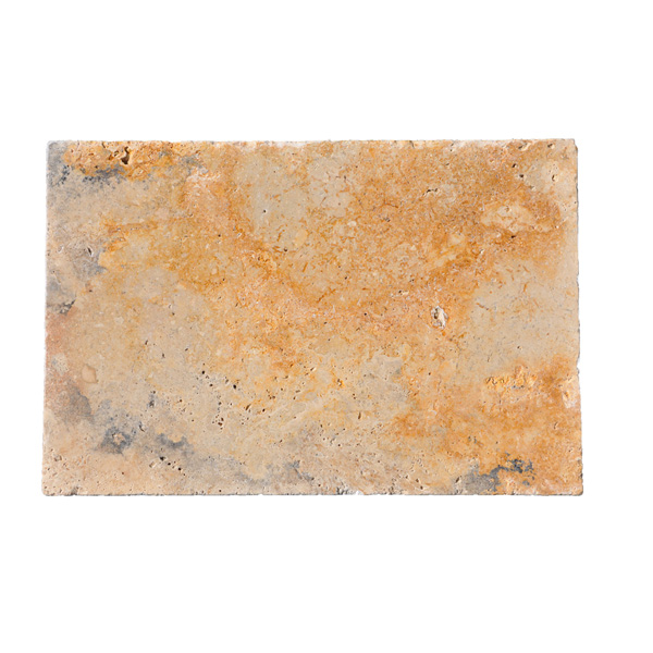 Premium Select 16x24 Country Classic Tumbled Travertine Pavers