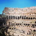Colosseum, Rome, Travertine