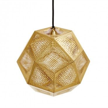 tom dixon brass etch light