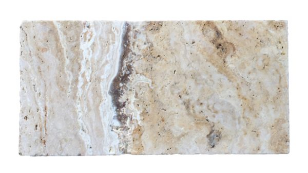 Premium Select 6×12 Leonardo Tumbled Travertine Pavers *PRE-ORDER SALE* (Until 02/14/20) (300px)