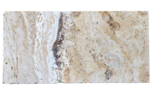 Premium Select 6×12 Leonardo Tumbled Travertine Pavers *WINTER SALE* (Until 12/14/18) (300px)