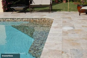 3 reasons why travertine pavers are perfect for a pool deck |