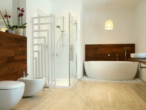 A house flip is made easier with travertine tiles!