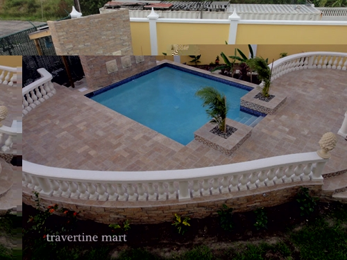 Can travertine be used outside? The answer is yes!