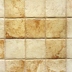 How to make coasters from leftover travertine tiles