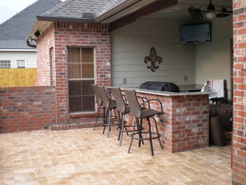 Here's how to install travertine pavers on your property!
