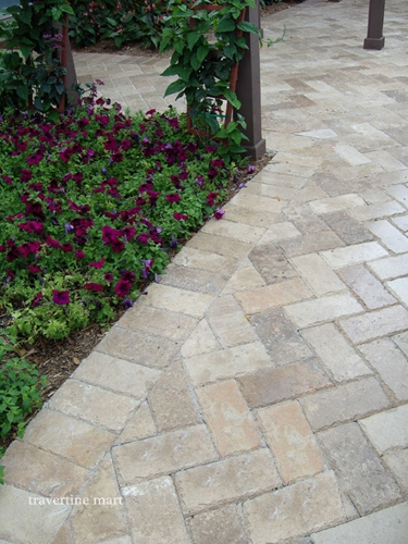 How Do You Kill Weeds Between Outdoor Travertine Pavers