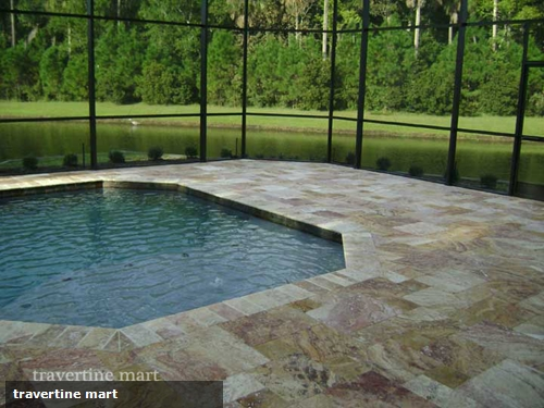 How to combine travertine pavers with your landscape