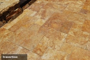 Tips for redoing a bathroom floor with travertine tiles |