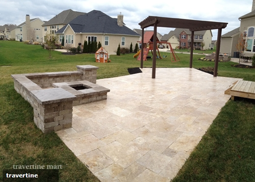 Things to know when installing travertine pavers