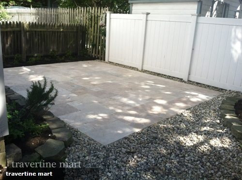 Travertine Pavers Are Perfect For Upgrading Your Driveway