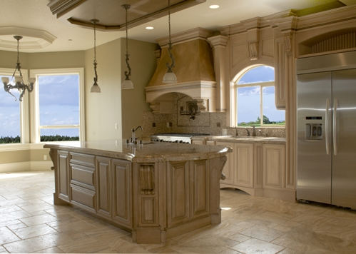 Where Should You Put Travertine Tile In Your Kitchen