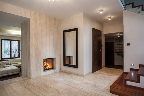 Travertine tiles fit into a handful of 2013's hottest trends!